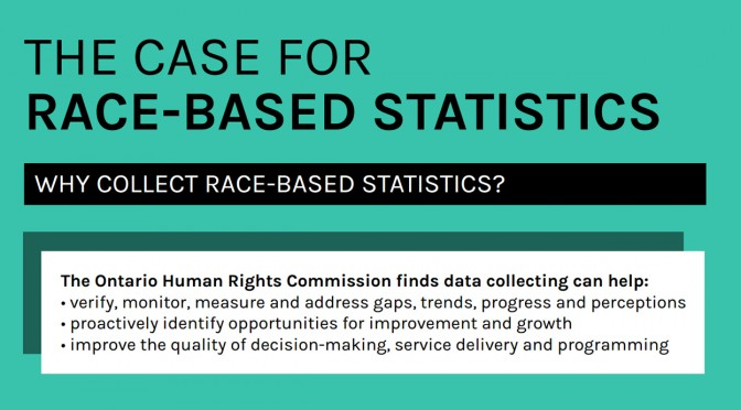 Infographic: The case for race-based statistics?