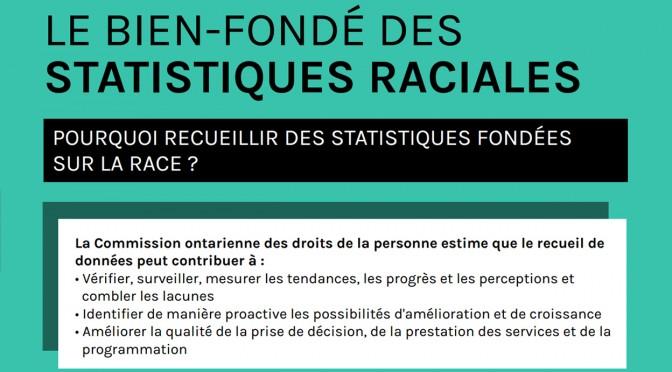 Résumé graphique : Le bien-fondé des statistiques raciales